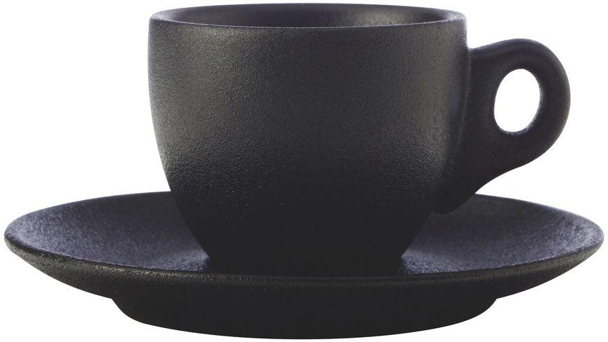 MAXWELL WILLIAMS CAVIAR BLACK Espressotasse mit Untertasse