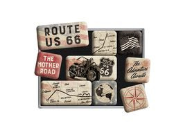 Nostlagic Art Magnet Set Route 66