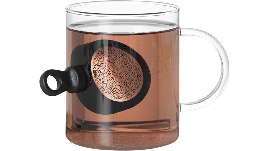 AdHoc Magnetischer Teefilter MagTea mit Abtropfstaender