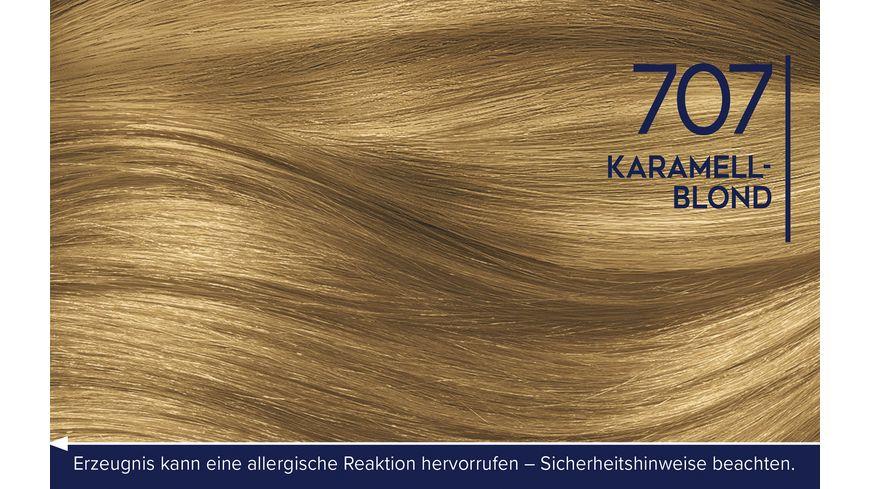 Schwarzkopf DIADEM Seiden Color Creme 707 Karamellblond