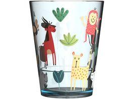 MEPAL Kinder Trinkglas Animal Friends 250 ml