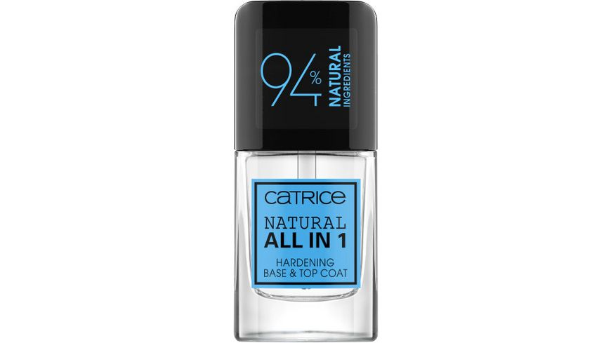 Catrice Natural All in 1 Hardening Base Top Coat