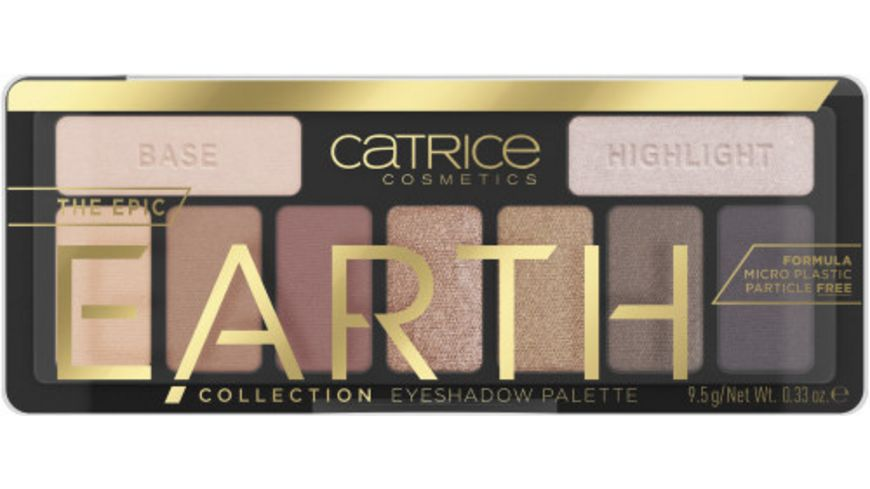 Catrice The Epic Earth Collection Eyeshadow Palette Inspired By Nature