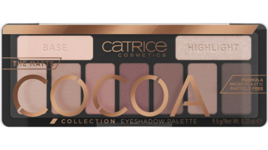 Catrice The Matte Cocoa Collection Eyeshadow Palette Chocolate Lover