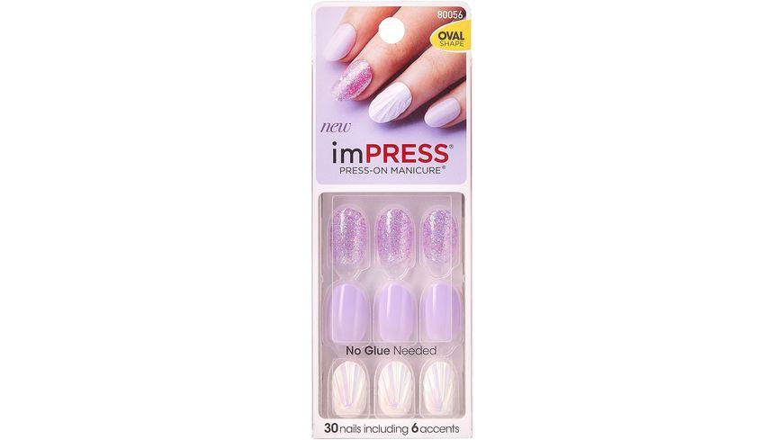 KISS imPRESS - selbstklebende Kunstfingernägel