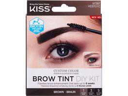 KISS Brow Tint Kit Augenbrauenfarbe