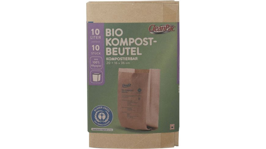 CleanPac Bio Müllbeutel 10 Liter