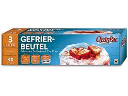 Clean Pac Gefrierbeutel 30x3L
