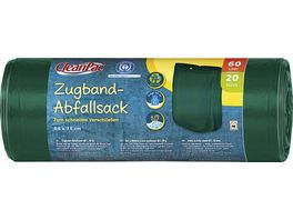 CleanPac Zugband Abfallsack 60 Liter