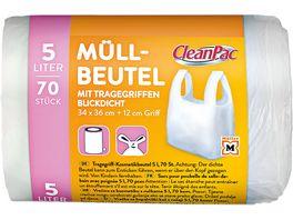 CleanPac Tragegriff Kosmetikbeutel 5 Liter