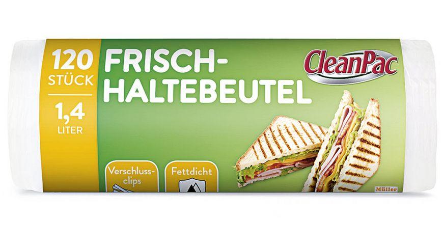 Clean Pac Frischhaltebeutel 120x1 4L