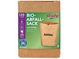 CleanPac Bio Abfallsack 120 Liter