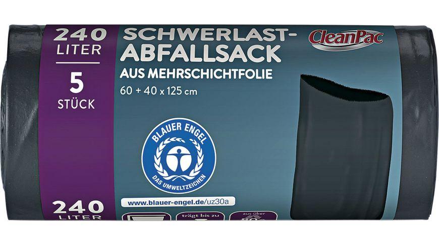 CleanPac Schwerlast-Abfallsack 240 Liter