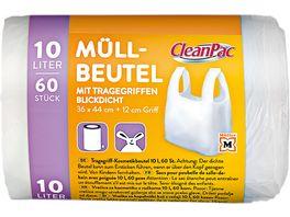 CleanPac Tragegriff Kosmetikbeutel 10 Liter