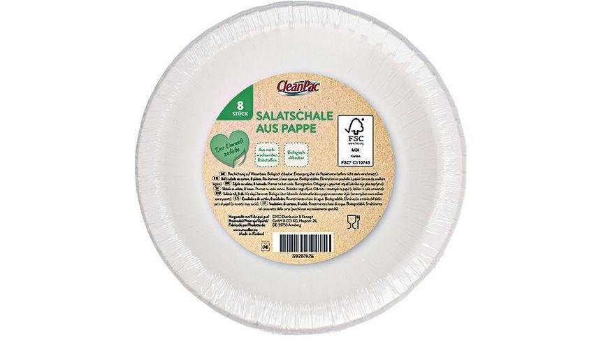 CleanPac Salatschale aus Pappe