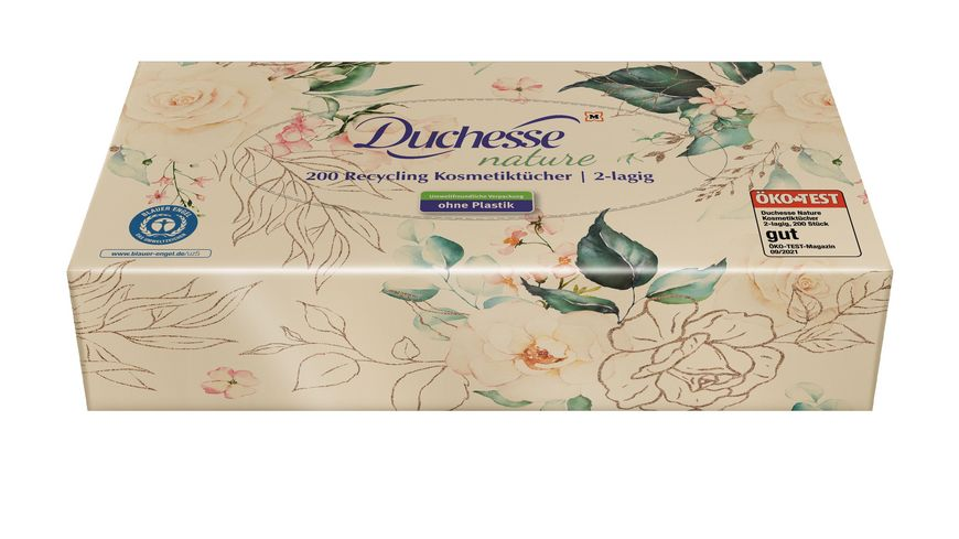 Duchesse Recycling Kosmetiktuecher 2 Lagig