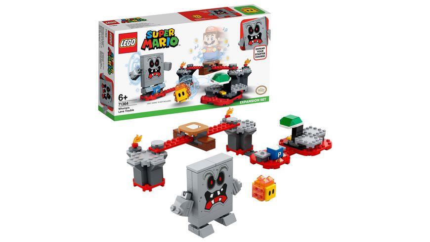 LEGO Super Mario 71364 Wummps Lava Aerger Erweiterungsset