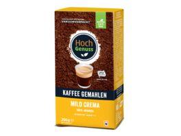 Hochgenuss Kaffee gemahlen Mild Crema 250g