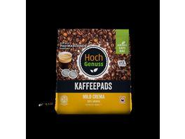 Hochgenuss Kaffeepads Mild Crema 20 Stueck