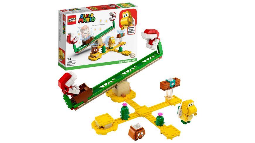 LEGO Super Mario 71365 Piranha Pflanze Powerwippe Erweiterungsset