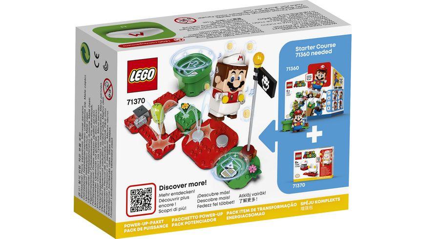 LEGO Super Mario 71370 Feuer Mario Anzug