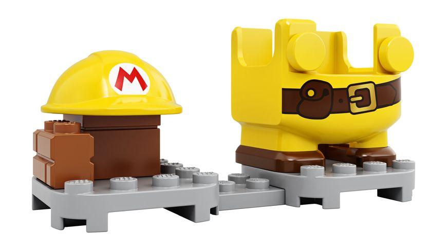 LEGO Super Mario 71373 Baumeister Mario Anzug