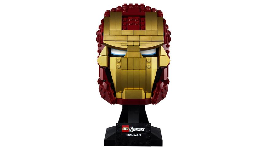 LEGO Marvel Super Classic 76165 Iron Mans Helm