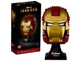 LEGO Marvel Super Classic 76165 Iron Mans Helm