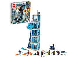 LEGO Marvel Super Classic 76166 Avengers Kraeftemessen am Turm
