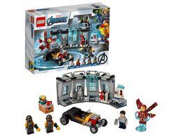 LEGO Marvel Super PT 76167 Iron Mans Arsenal