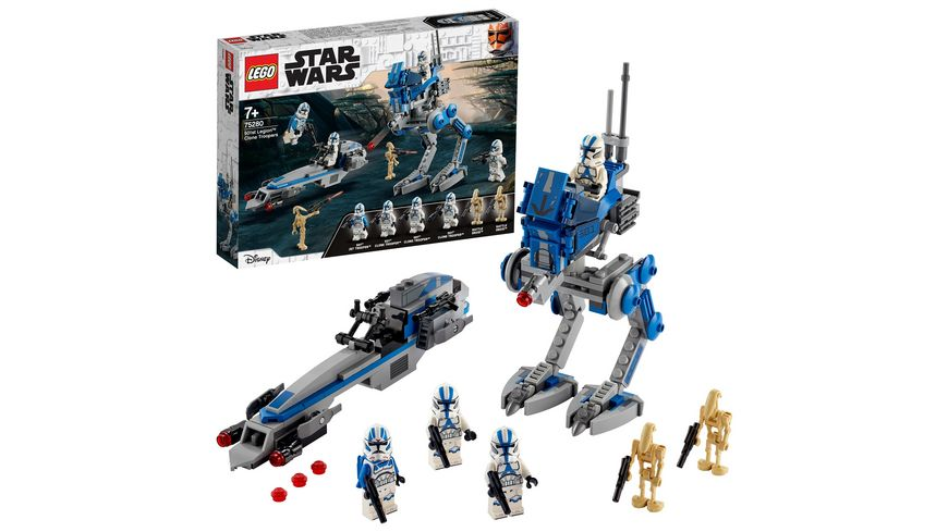LEGO Star Wars - 75280 Clone Troopers™ der 501. Legion™