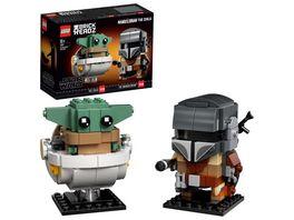 LEGO Star Wars 75317 Der Mandalorianer und das Kind