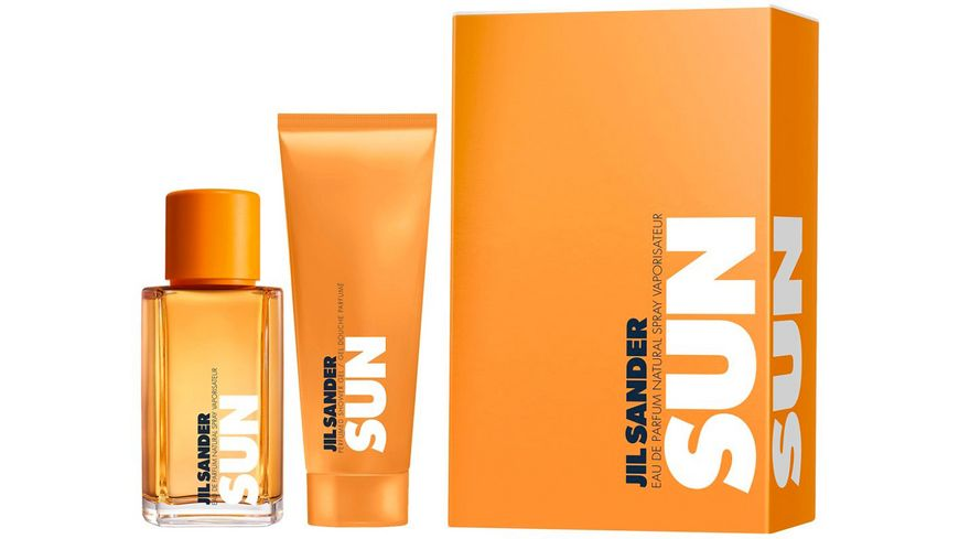 JIL SANDER Sun Eau de Parfum + Shower Gel Geschenkset