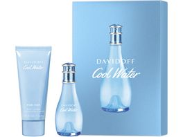 DAVIDOFF Cool Water Woman Eau de Toilette Bodylotion Geschenkset