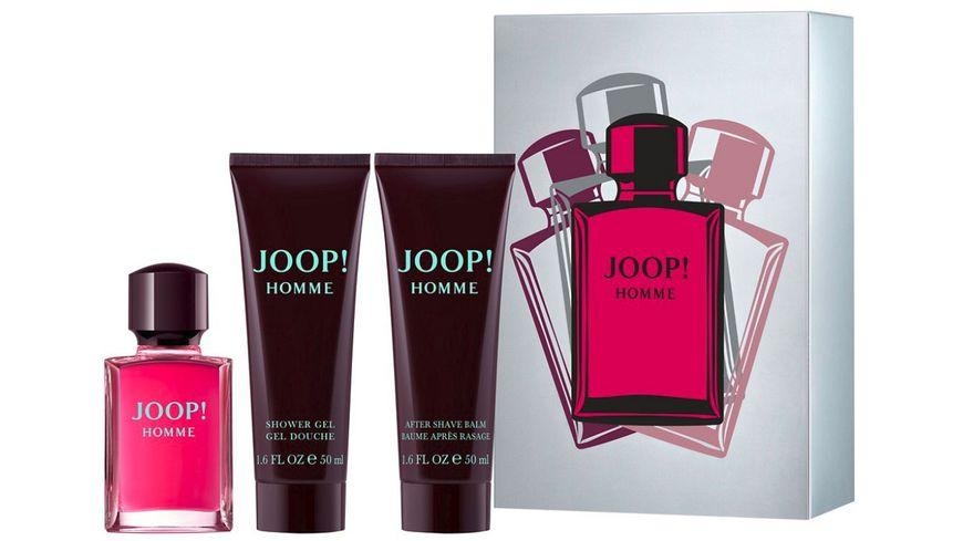 Joop Homme Eau de Toilette Aftershave Balm Shower Gel Geschenkset