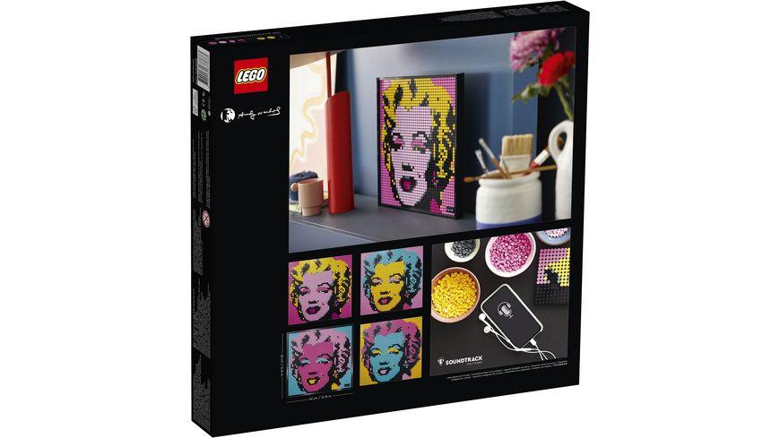 LEGO ART 31197 Andy Warhol s Marilyn Monroe