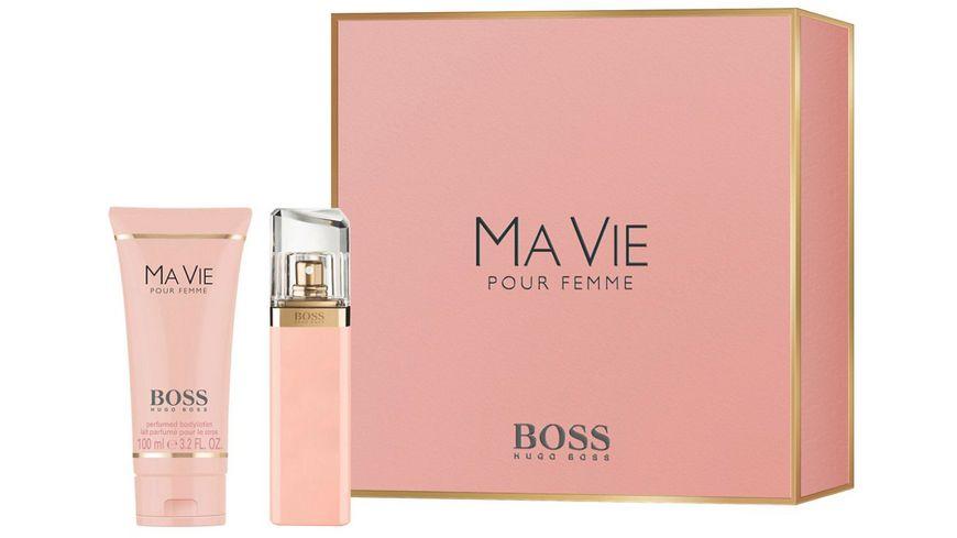 BOSS MA VIE Eau de Parfum Body Lotion Geschenkset