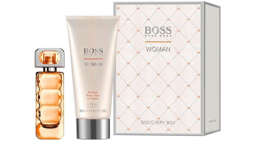 BOSS Orange Woman Eau de Toilette Body Lotion Geschenkset