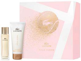 LACOSTE Pour Femme Eau de Parfum Body Lotion Geschenkset