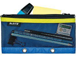 LEITZ Zip Tasche Stiftemaeppchen Urban Chic blau