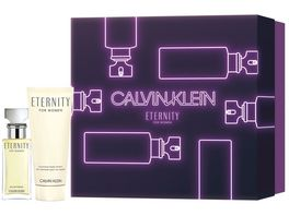 Calvin Klein Eternity Women Eau de Parfum Body Lotion Geschenkset