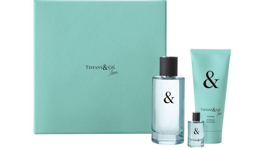 TIFFANY & CO. & Love for him Eau de Toilette + Shower Gel Geschenkset