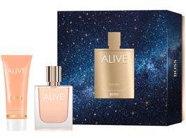 BOSS Alive Eau de Parfum Body Lotion Geschenkset