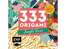 333 Origami Jungle Fever