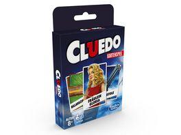 Hasbro Gaming Cluedo Kartenspiel