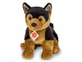 Teddy Hermann Schaeferhund Welpe sitzend 30 cm