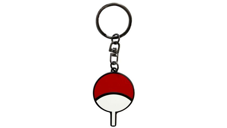 NARUTO SHIPPUDEN Schlüsselanhänger Uchiha Symbol