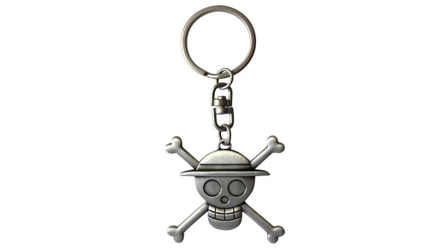 ONE PIECE Schlüsselanhänger 3D Skull Luffy