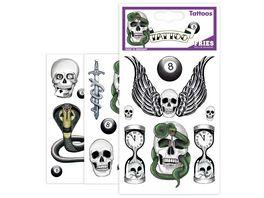FRIES 31568 TATTOOS BLACK CLASS 1 Stueck sortiert