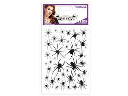 FRIES 31507 TATTOOS BLACK SPIDER